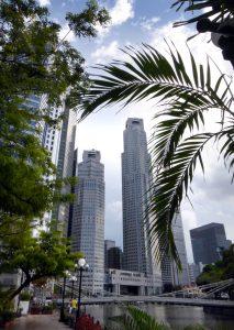 Singapore's impressive skyline.