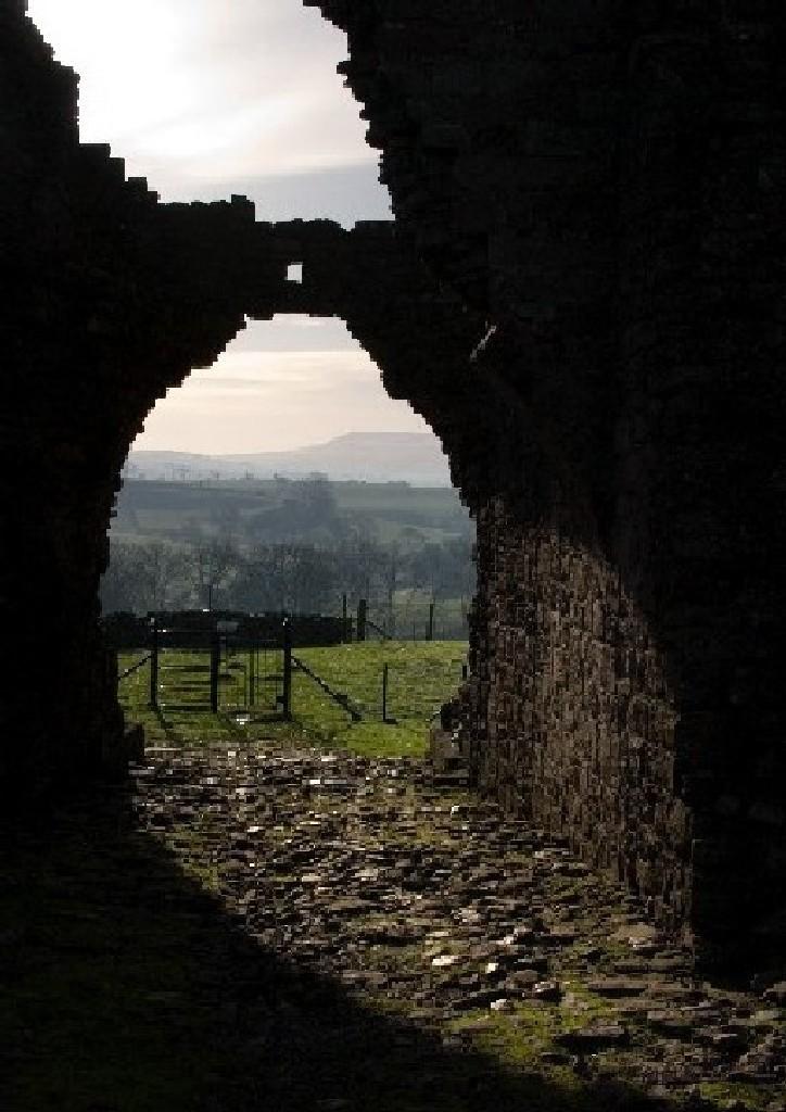 Castle entrance.