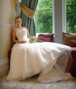 bride sat