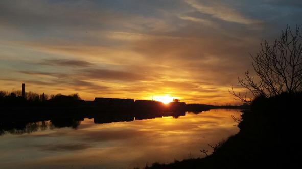 sunset Lancaster