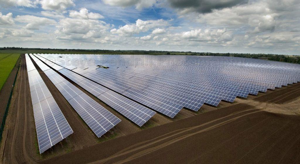 Stowbride Solar Energy Farm.