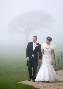 Unusual conditions for your wedding portraits!