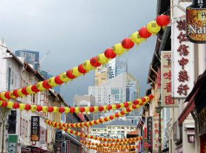 Vibrant, colurful and exciting Chinatown.