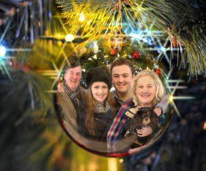 Christmas family portrait, Lancaster