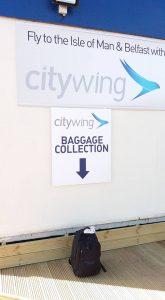 Basic baggage reclaim at Blackpool!