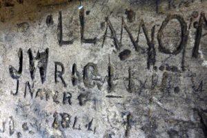 Ancient grafitti!