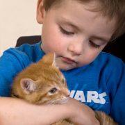 Children & pets portrait