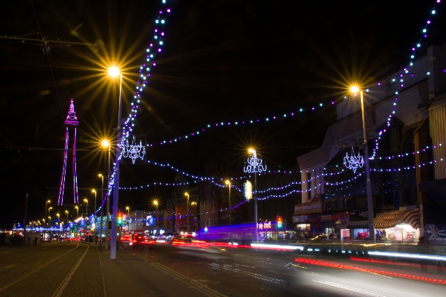 Blackpool Prom and Tower.