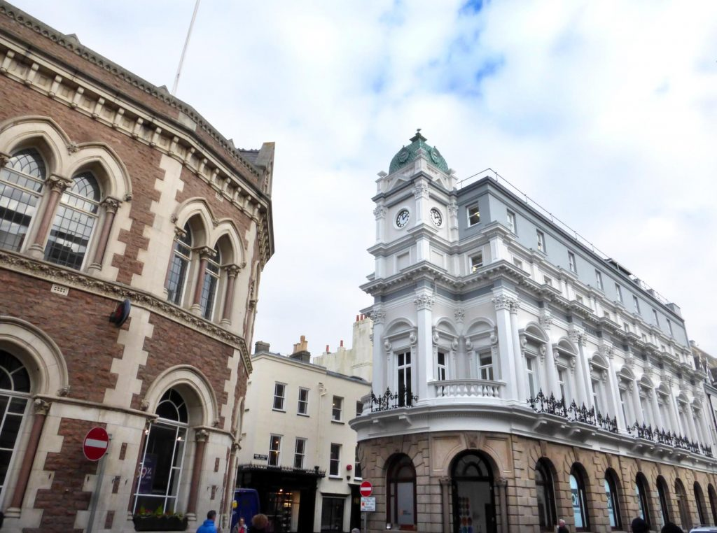 Beautiful buildings to admire in the town centre