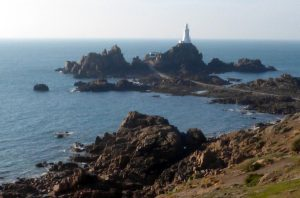 Jersey's picturesque south western tip.