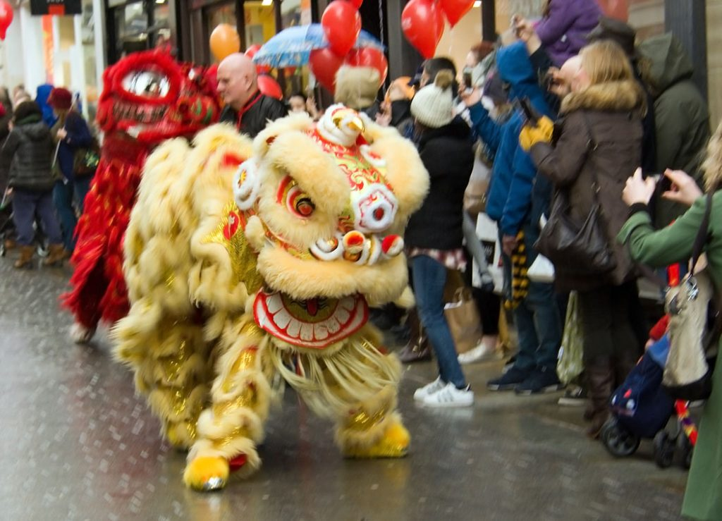 Chinese dragon, Lancaster