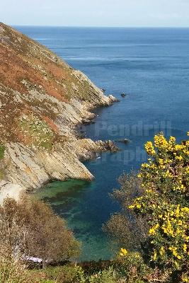 Dhoon Glen coastline.