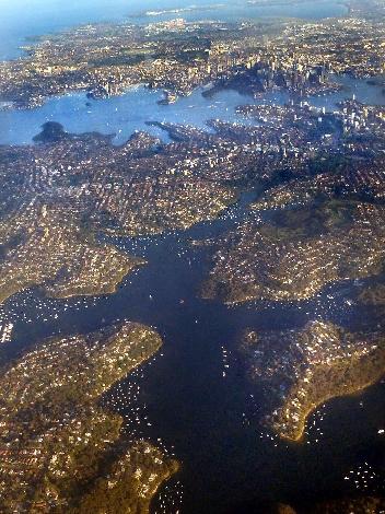 Sydney aerial view