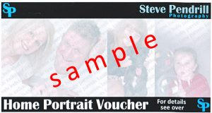 portrait voucher Lancaster, Morecambe