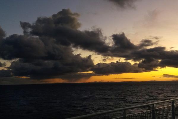 Irish Sea sunset