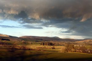Looking across the Lune Valley.
