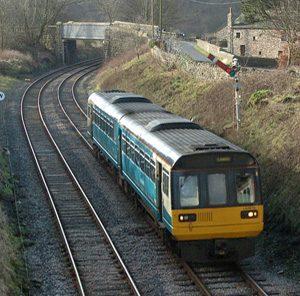 Class 142 Pacer Unit train at Wennington.