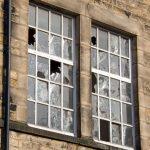 Inevitable broken windows.