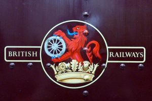 British Railways' iconic original emblem.