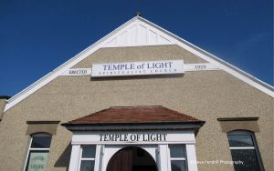 Morecambe temple of light,